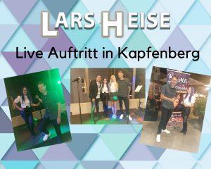 Mein erster Live Auftritt am 09.07.2021 in Kapfenberg (Österreich)